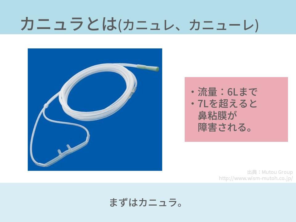酸素療法、低流量系システム