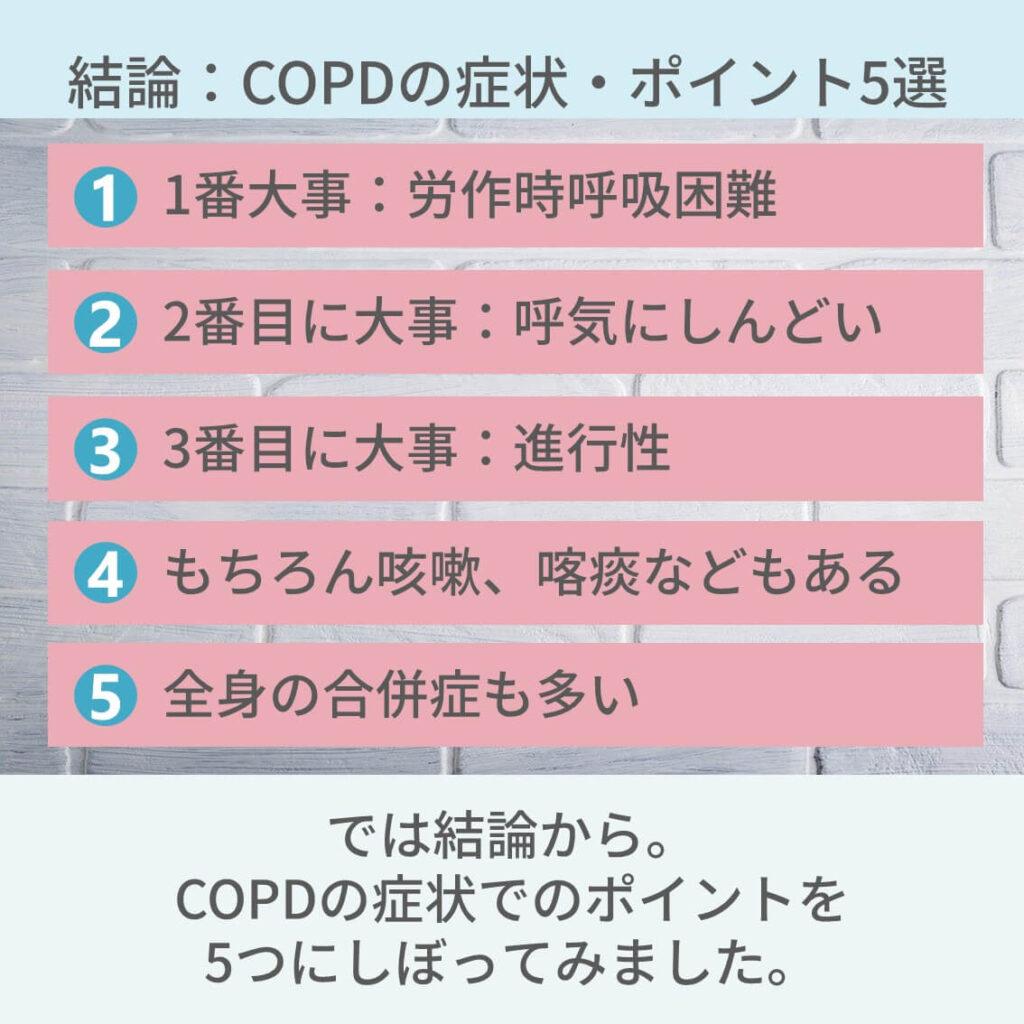 COPD症状